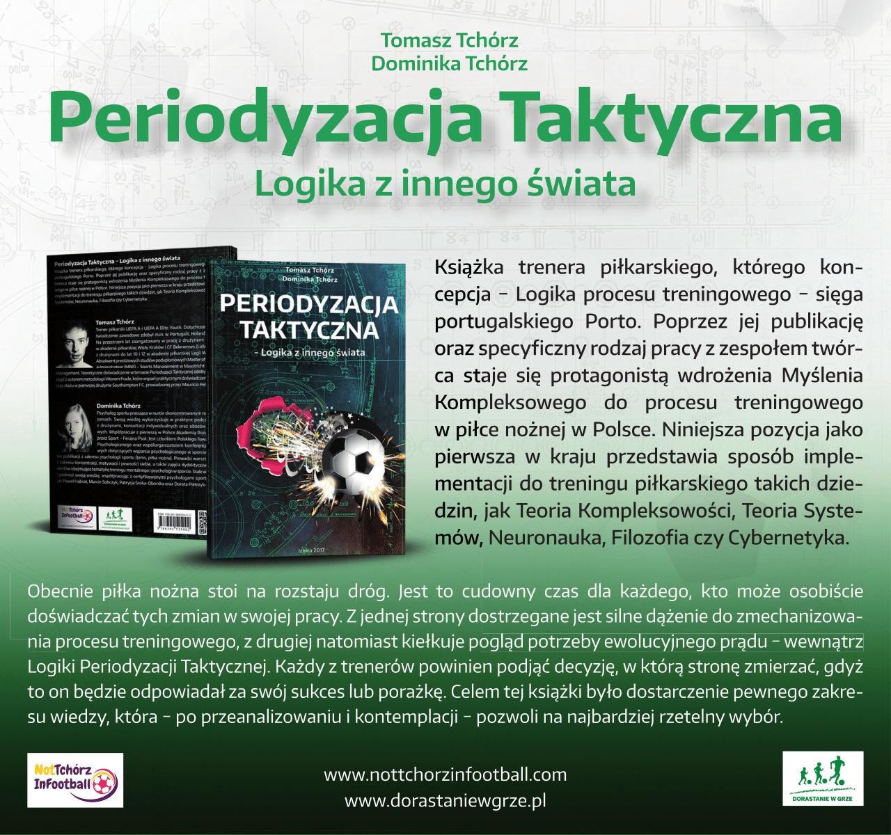 Przedstawienie zagadnień Macierzy Konceptualnej i Metodologicznej Periodyzacji Taktycznej