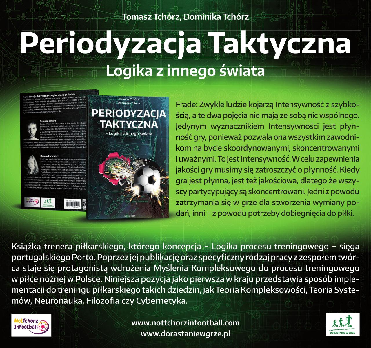 Pierwsza książka o Periodyzacji Taktycznej Vítora Frade w Polsce dostępna!