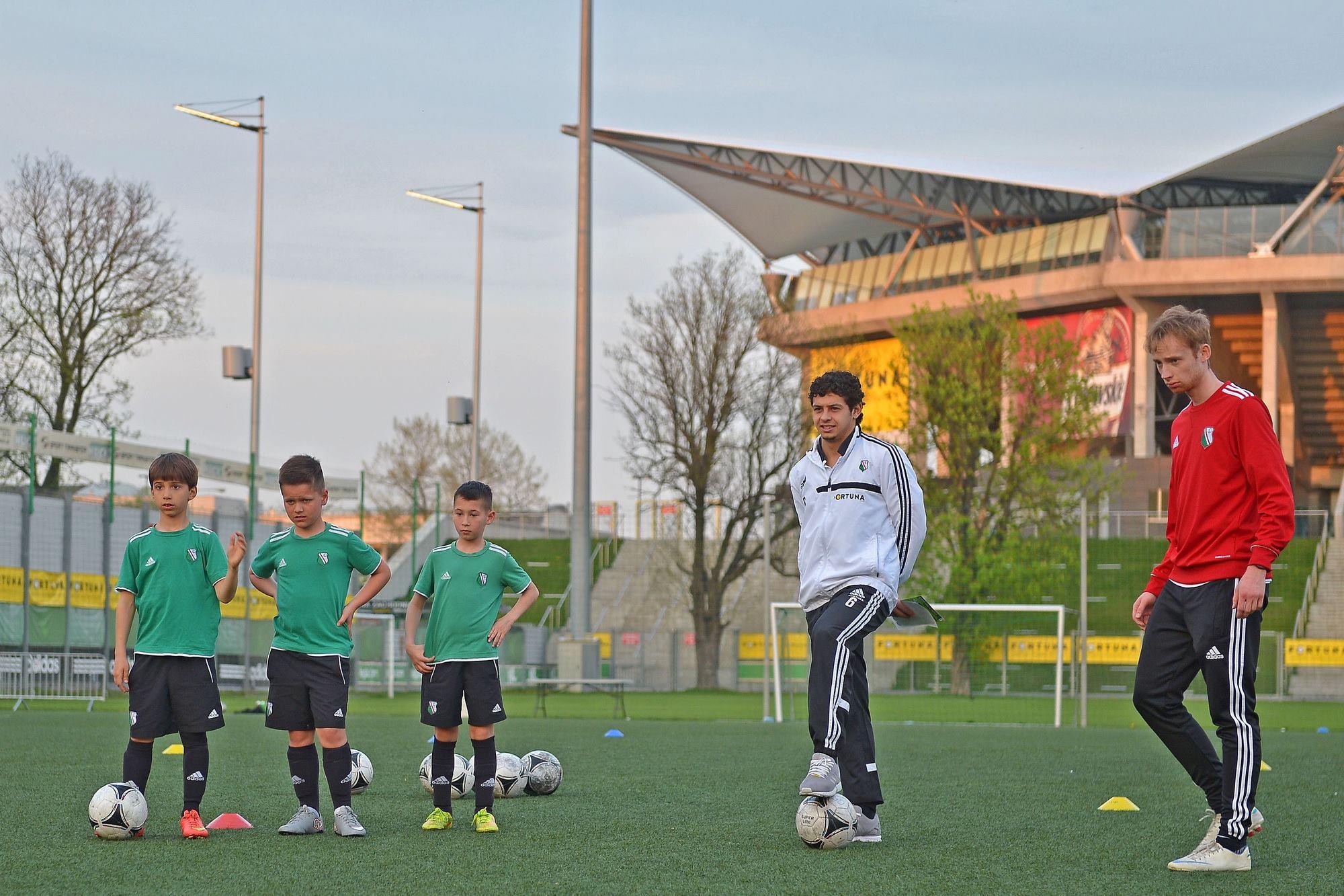 Tomek Tchórz- Dzieci w Sportingu uwielbiają spędzać czas w grupie