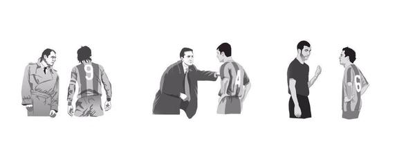 Cruyff, Guardiola, Xavi