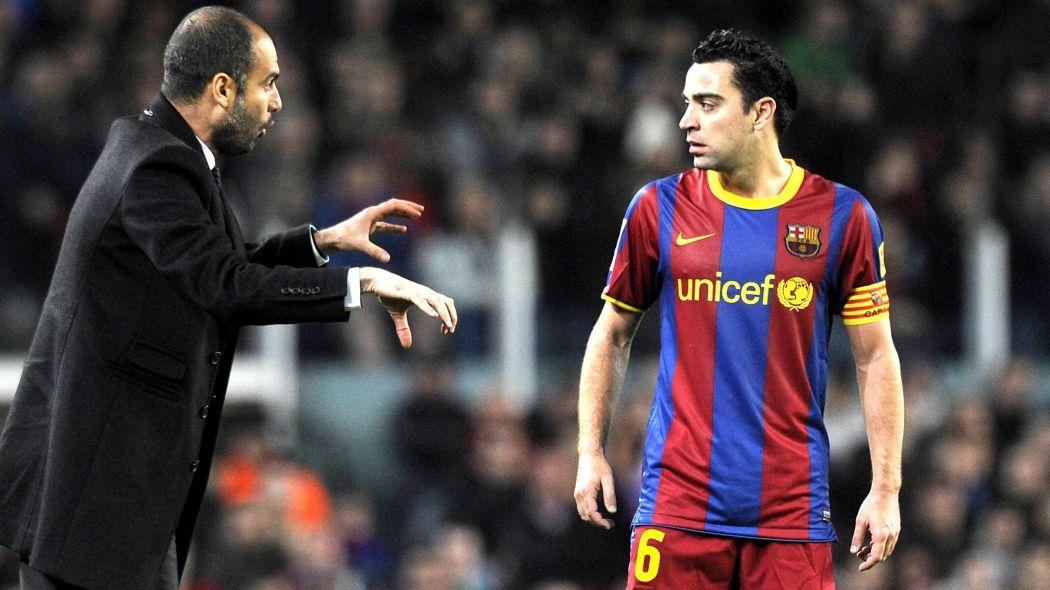 Guardiola, Xavi